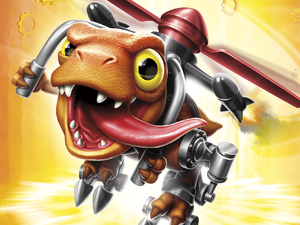 Chopper in Skylanders: Trap Team