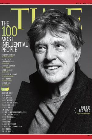 Robert Redford covers TIME's Most Influential People issue 2014