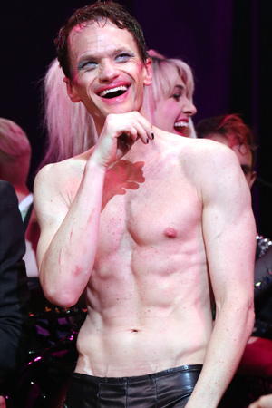 NEW YORK, NY - APRIL 22: Neil Patrick Harris during the Broadway Opening Night Performance Curtain Call for 'Hedwig and the Angry Inch' at the Belasco Theatre on April 22, 2014 in New York City. (Photo by Walter McBride/WireImage)