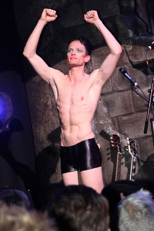 NEW YORK, NY - APRIL 22: Neil Patrick Harris takes his Opening Night Curtain Call as 'Hedwig' in 'Hedwig And The Angry Inch' on Broadway at The Belasco Theatre on April 22, 2014 in New York City. (Photo by Bruce Glikas/FilmMagic)