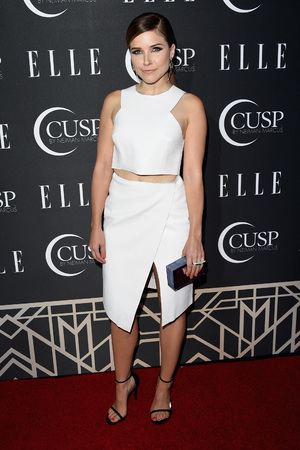 HOLLYWOOD, CA - APRIL 22: Actress Sophia Bush attends the 5th Annual ELLE Women in Music Celebration presented by CUSP by Neiman Marcus. Hosted by ELLE Editor-in-Chief Robbie Myers with performances by Sarah McLachlan, Angel Haze and Betty Who, with special DJ set by Rumer Willis at Avalon on April 22, 2014 in Hollywood, California. (Photo by Jason Merritt/Getty Images for ELLE)