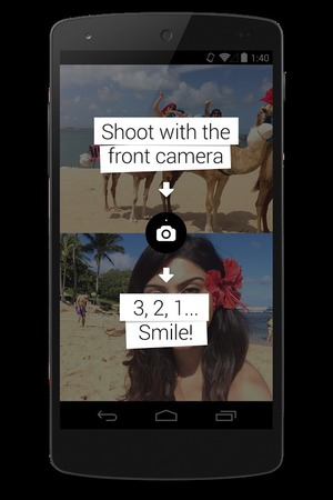 Frontback app for Android
