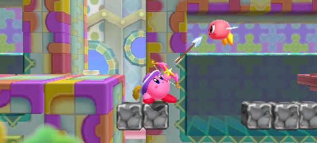 Kirby Triple Deluxe screenshot
