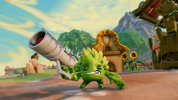 Food fight in Skylanders: Trap Team