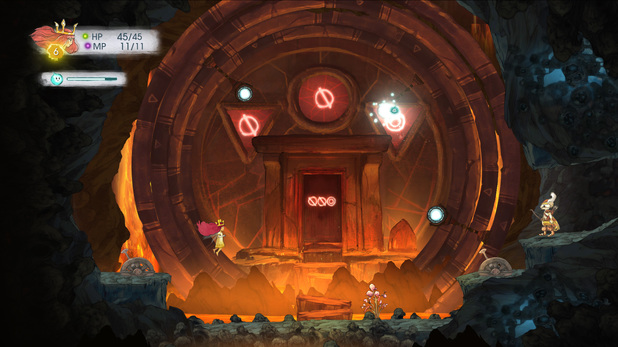 Puzzel giant in Child of Light