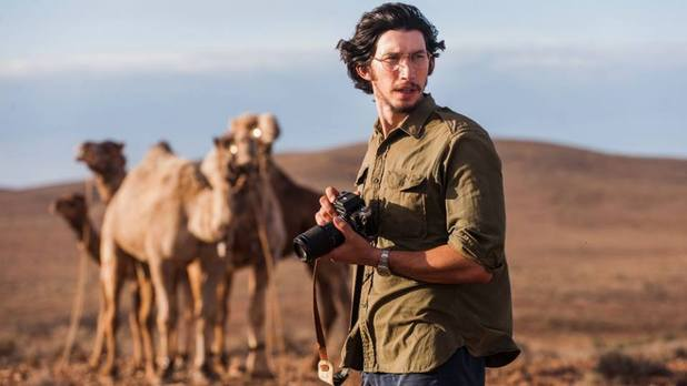 Adam Driver in Tracks