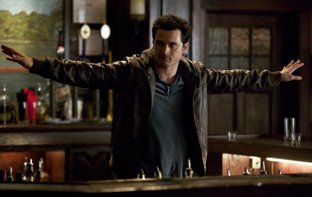 Michael Malarkey as Enzo in The Vampire Diaries S05E19: 'Man on Fire'
