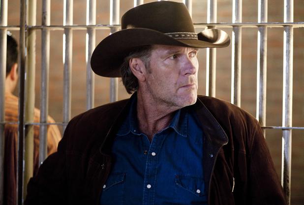 Robert Taylor as Sheriff Walt Longmire in Longmire