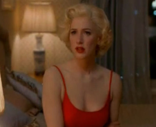 Poppy Montgomery as Marilyn Monroe Blonde TV miniseries 2001