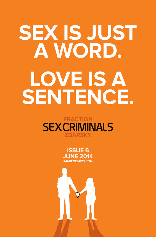 Sex Criminals #6 teaser