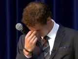 Andy Murray tears up as he's awarded freedom of Scottish city