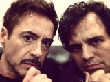 Robert Downey Jr and Mark Ruffalo - Science Bros