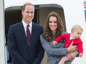 Duke and Duchess of Cambridge warn photographers over alleged Prince George harassment.