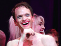 Hedwig and the Angry Inch star performs for celeb guests including Amanda Seyfried.