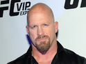 Steve Austin attends the UFC 170 event at the Mandalay Bay Events Center