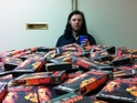 Ryan Beitz owns more than 500 copies of the 1994 Keanu Reeves movie.