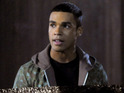 Lucien Laviscount leads the cast as hunter Ennis Roth.