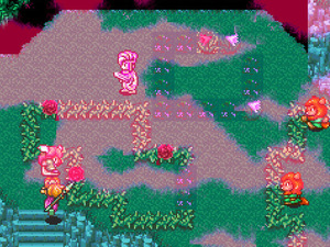 Secret of Mana on SNES