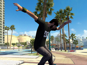 Tony Hawk's Shred Session is an endless runner for mobiles