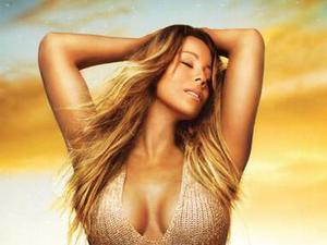 "Mariah Carey ""Me. I Am Mariah...The Elusive Chanteuse"" album artwork."