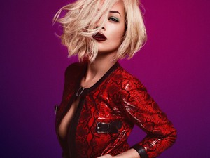 Rita Ora single remix artwork.