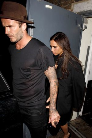Victoria Beckham's 40th Birthday at the Arts Club, London, Britain - 27 Apr 2014 Chris Martin 27 Apr 2014
