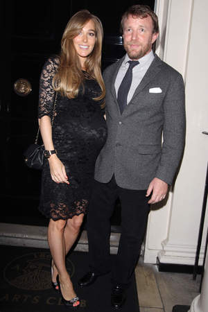 Victoria Beckham's 40th Birthday at the Arts Club, London, Britain - 27 Apr 2014 Jacqui Ainsley and Guy Ritchie