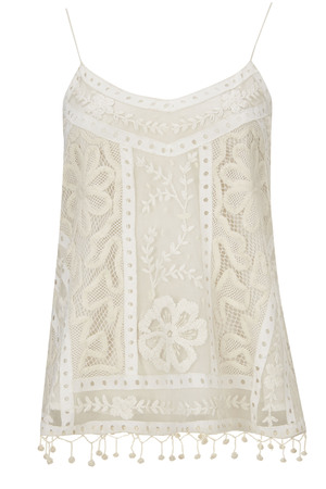 Topshop, collection Kate Moss 2014 camisole