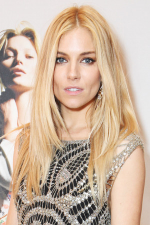 LONDON, ENGLAND - APRIL 29: Sienna Miller attends a private dinner celebrating the Global Launch of the 'Kate Moss for TopShop Collection' at The Connaught Hotel on April 29, 2014 in London, England. (Photo by David M. Benett/Getty Images)