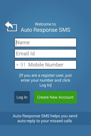 Auto-Responses SMS app for Android