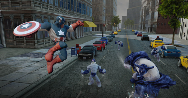 Disney Infinity 2.0: Marvel Super Heroes - Captain America