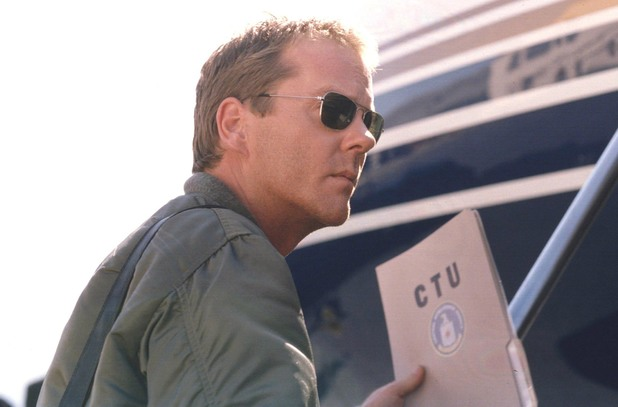 Kiefer Sutherland as Jack Bauer in 24 (2002)