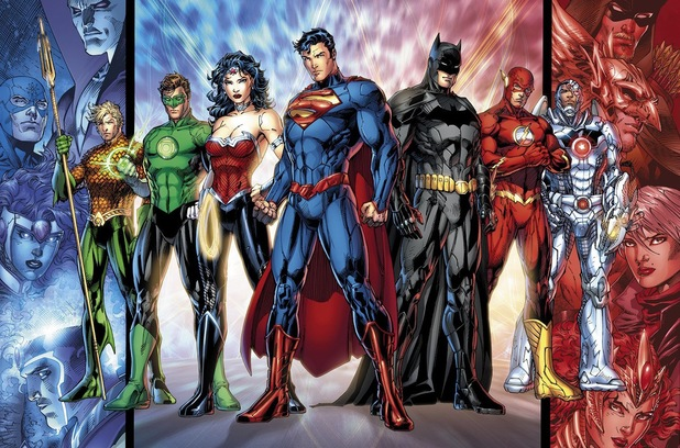 Jim Lee's 'Justice League'