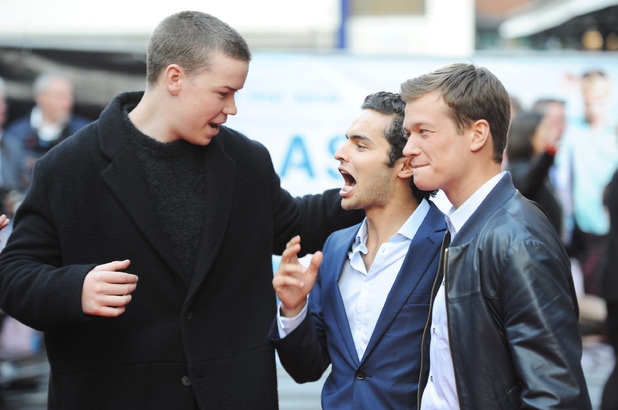 Dave J Hogan Getty Images Entertainment People: Will Poulter; Sebastian De Souza; Ed Speleers