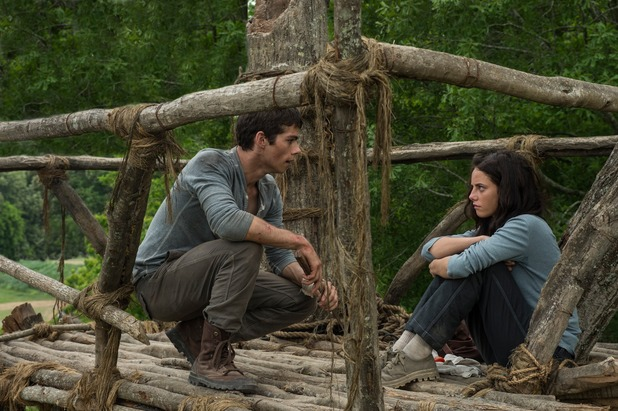 The Maze Runner, Dylan O'Brien, Kaya Scodelario
