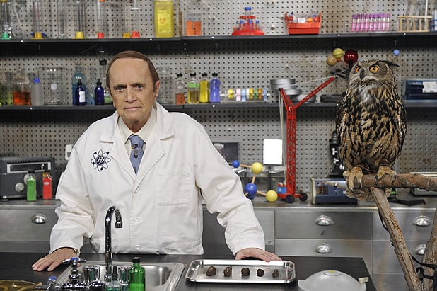 Bob Newhart as Professor Proton in 'The Proton Transmogrification'