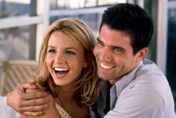 Britney Spears and Anson Mount