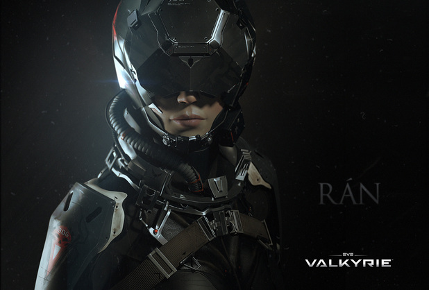 Katee Sackhoff's EVE Valkyrie character Ran