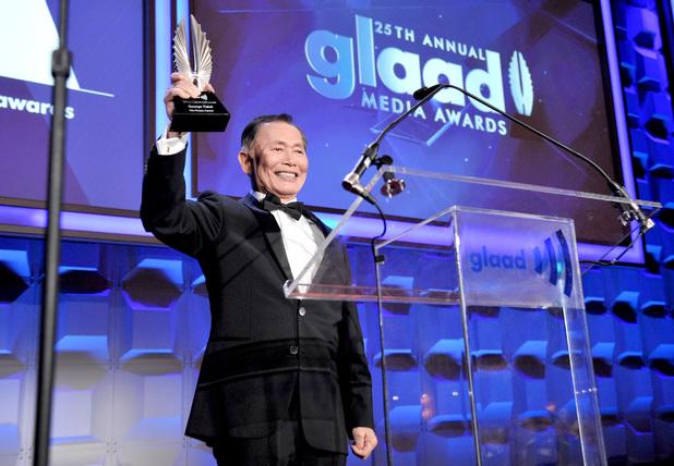 GLAAD Awards 2014: George Takei