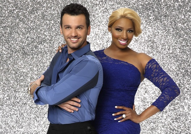 Dancing with the Stars: NeNe Leakes and dancing partner Tony Dovolani