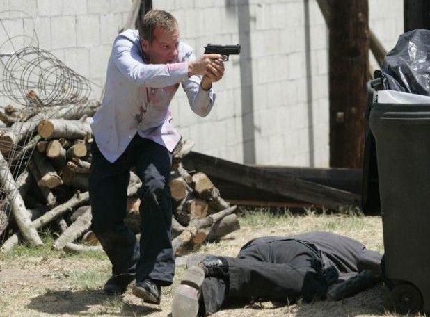 Kiefer Sutherland in 24 season 6
