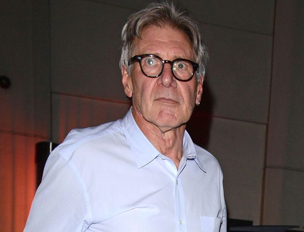 Harrison Ford spotted out and about in London