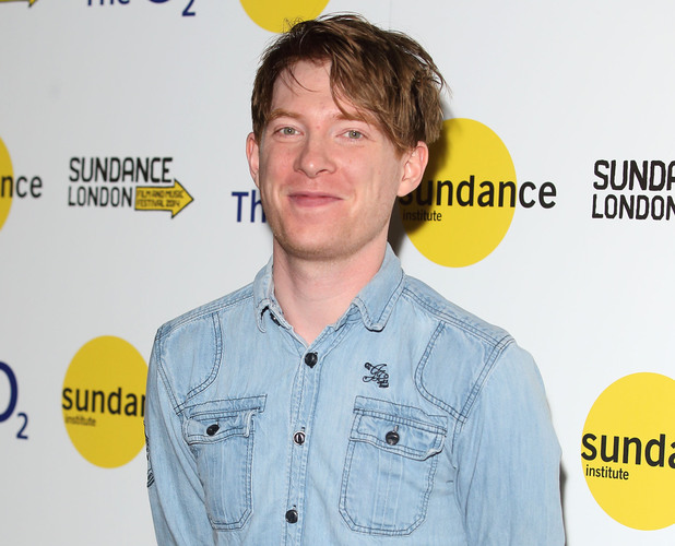 Domhnall Gleeson attends the premiere of 'Frank' at Sundance London