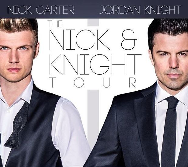 Nick Carter & Jordan Knight: The Nick & Knight Tour poster