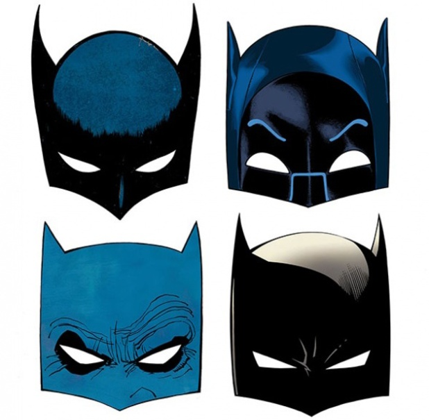 Batman 75th anniversary masks