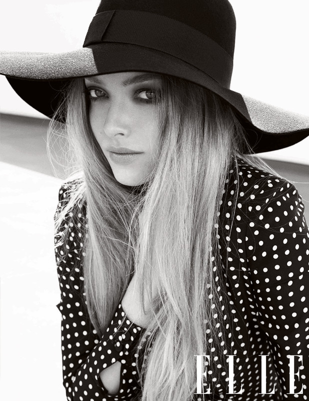 Amanda Seyfried in the June issue of ELLE UK