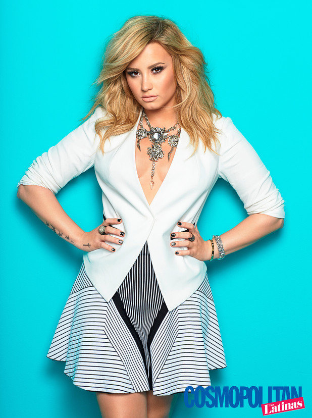 Demi Lovato in the Summer 2014 issue of Cosmopolitan for Latinas