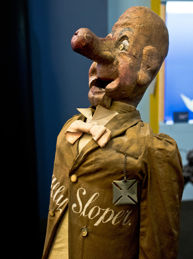 Ally Sloepr's ventriloquist dummy