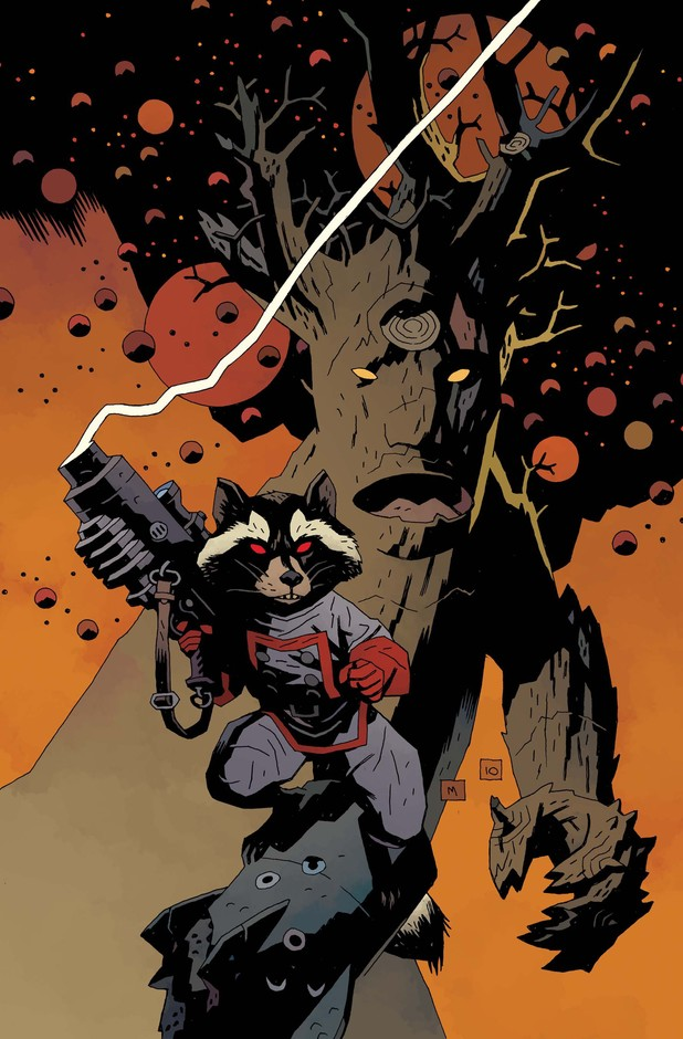 Mike Mignola's Annihilators #1 cover