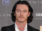 Luke Evans at the Battersea Power Station Annual Party